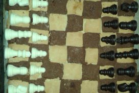 Schach-Kuchen von Vicky!
